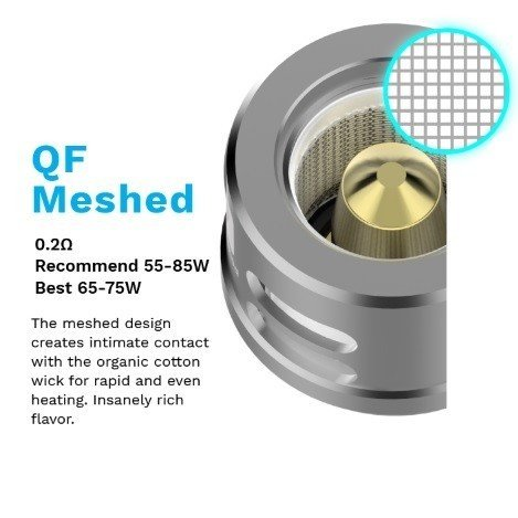Vaporesso - QF Meshed Coil 0.2 Ohm